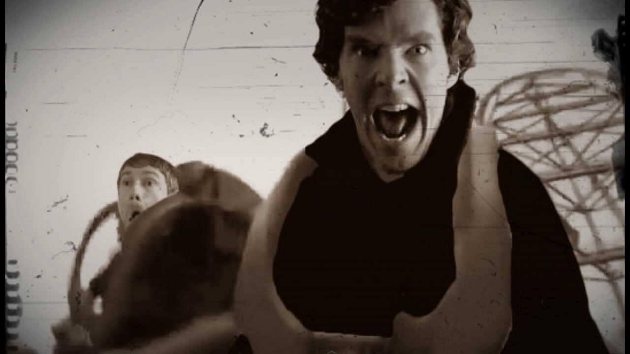 Montanha russa do Sherlock?