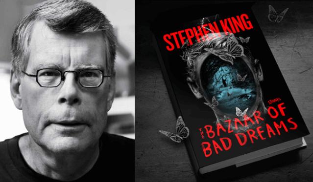 Stephen King é o vencedor do melhor conto no Edgar Awards