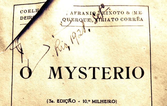 O Mistério, primeiro romance policial brasileiro