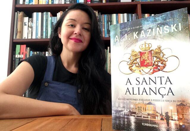A Santa Aliança, de A.J. Kazinski