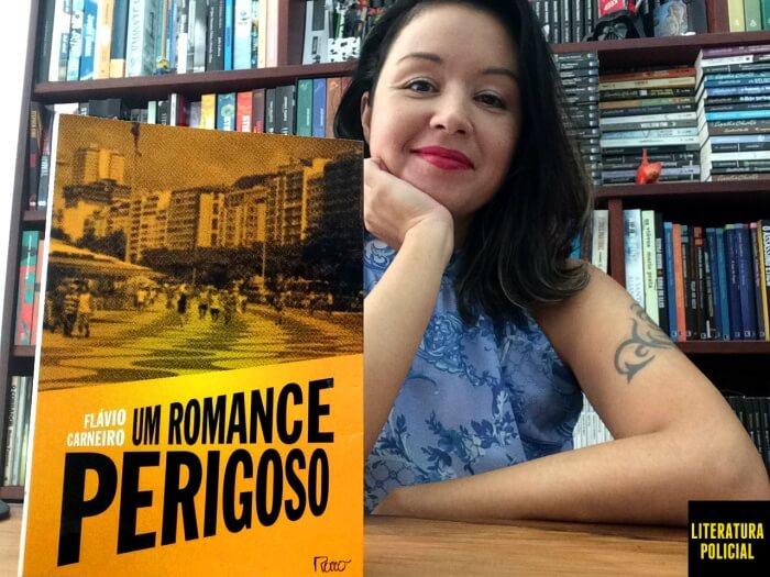 Um romance perigoso, Flávio Carneiro