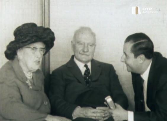 Em rara entrevista, Agatha Christie fala sobre Poirot e Miss Marple