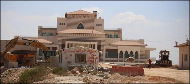 Um palácio presidencial palestino será a nova biblioteca nacional