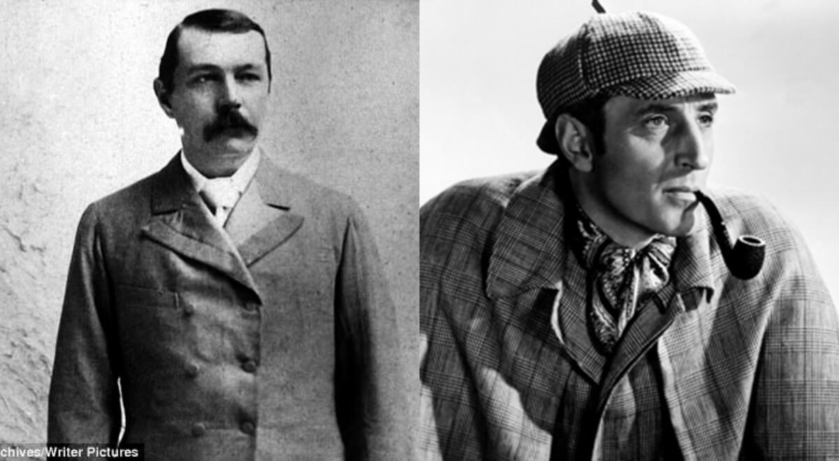 Foto revela possível inspiração de Conan Doyle para o chapéu e cachimbo de Sherlock