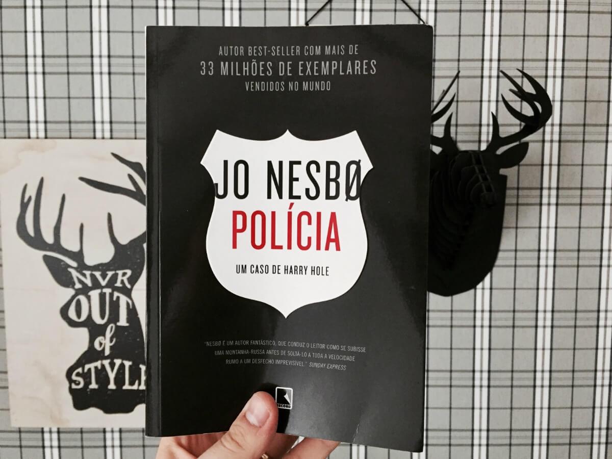 Harry Hole e uma trama muito bem arquitetada em Polícia, de Jo Nesbø