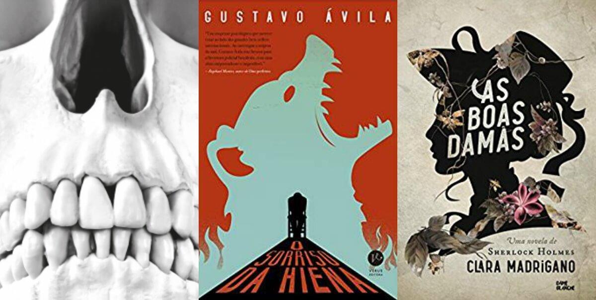 10 livros de suspense, mistério e terror de autores nacionais em 2017