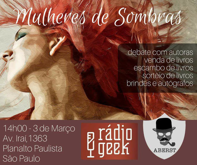 Mulheres de Sombras: evento reúne leitores e escritoras em São Paulo