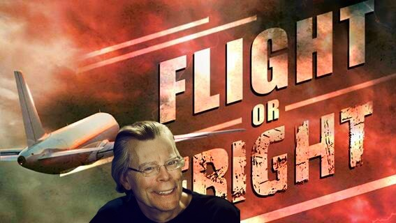 Stephen King participa de antologia sobre medo de voar