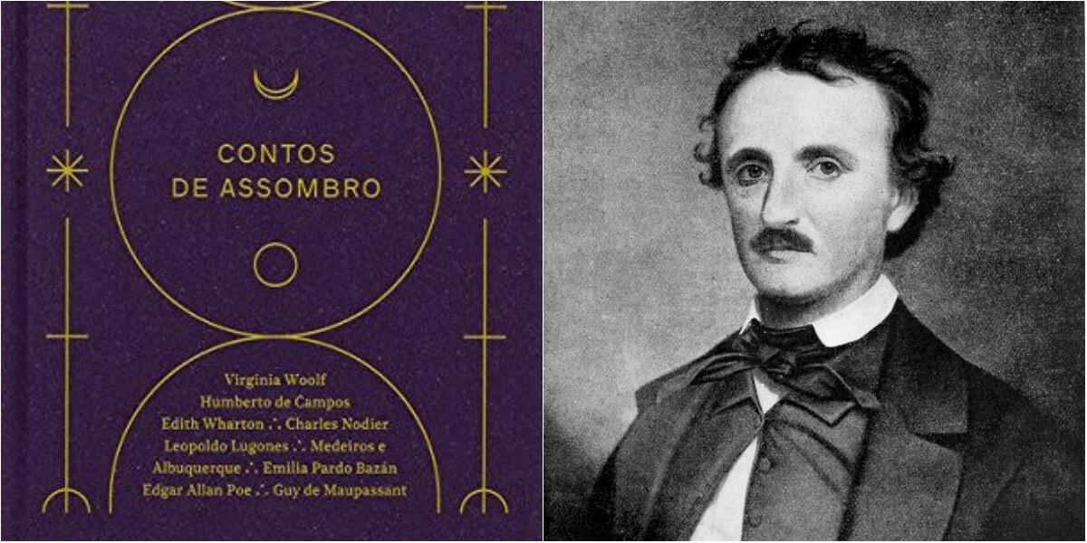 Contos de Assombro, uma coletânea de literatura fantástica e de mistério