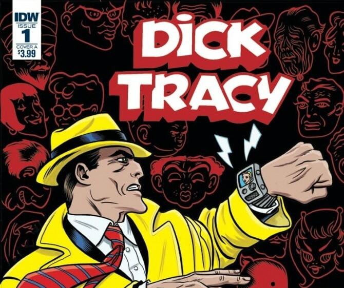 Detetive Dick Tracy vai voltar às bancas em setembro