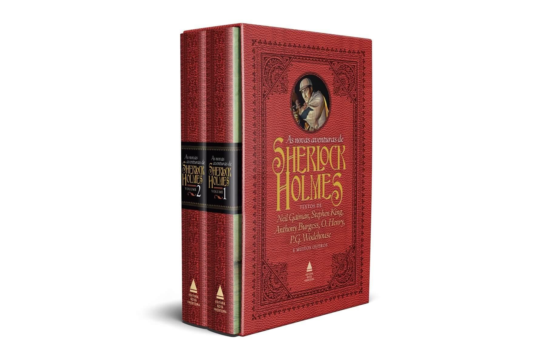 Editora lança box com novas histórias de Sherlock Holmes