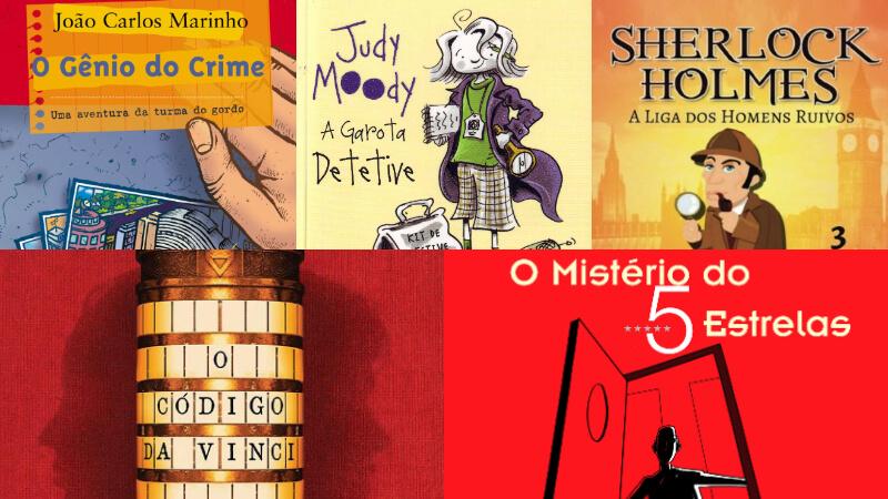 40 livros de suspense e mistério para crianças