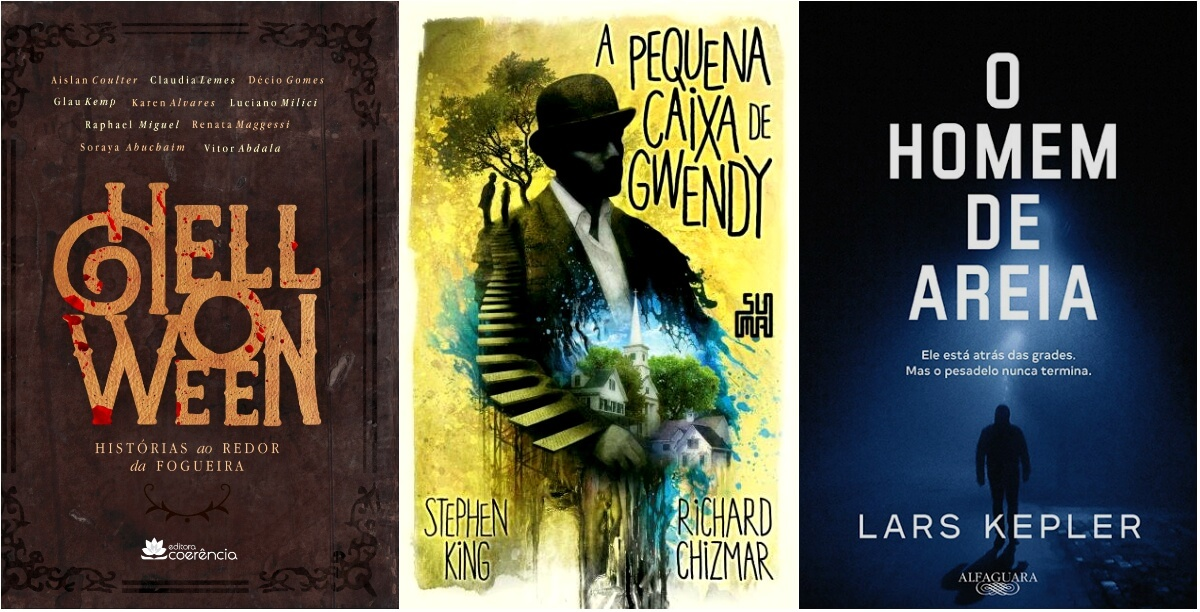 LANÇAMENTOS | As dicas de outubro para fãs de mistério, suspense e terror