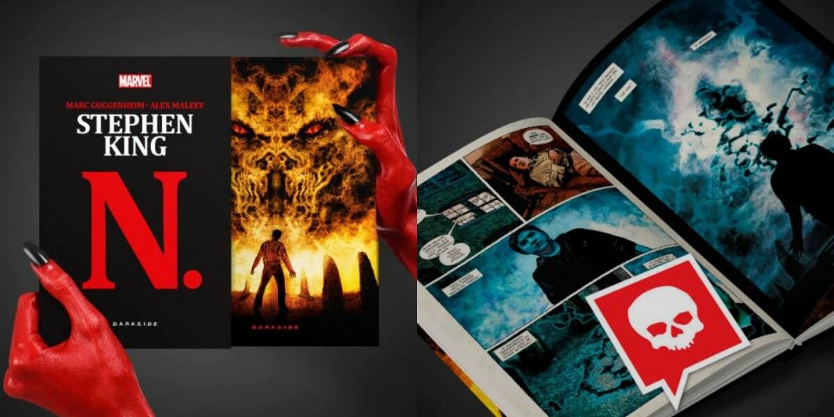 Darkside Books lança graphic novel de Stephen King em edição limitada