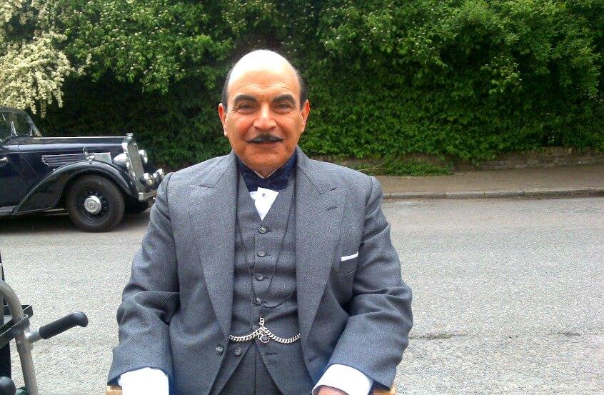 """David Suchet: """"Eu interpretaria Poirot no cinema"""""""
