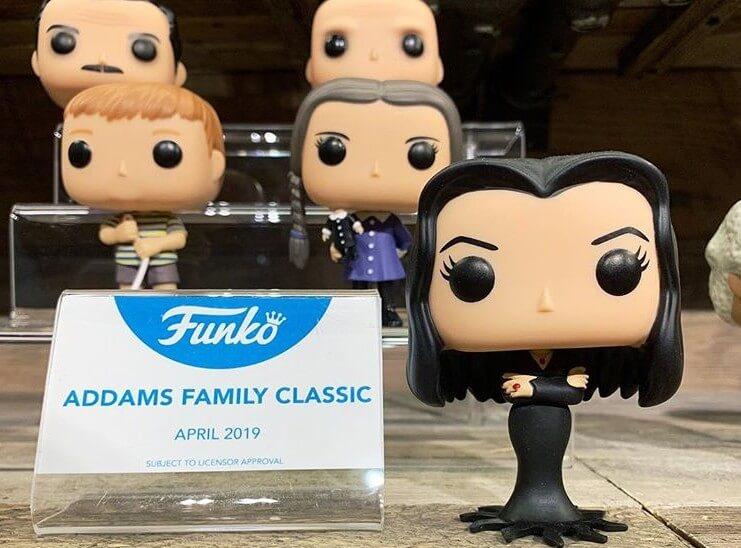 Funko vai lançar colecionáveis da Família Addams