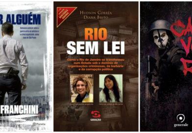 10 livros sobre polícia, gangues e milícia