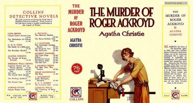 6 curiosidades sobre O Assassinato de Roger Ackroyd, um clássico do mistério