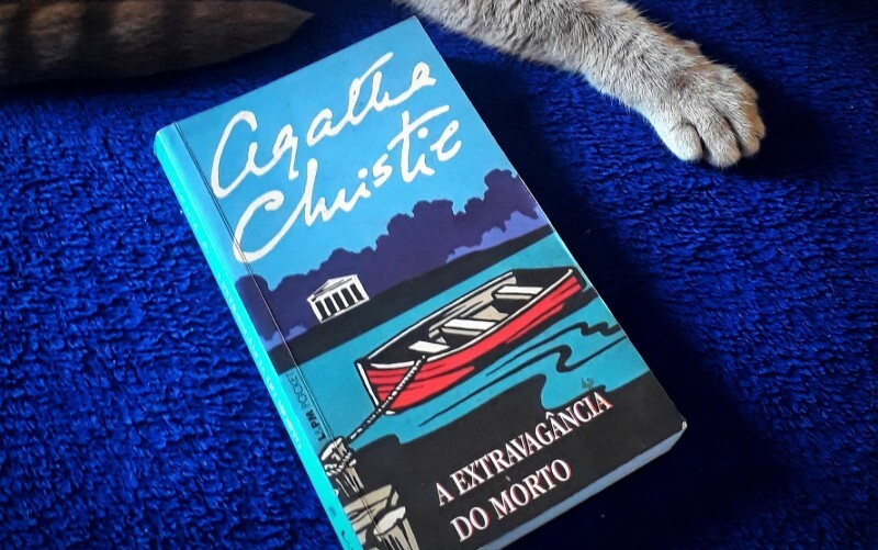 A EXTRAVAGÂNCIA DO MORTO   Tudo sobre o romance policial de Agatha Christie