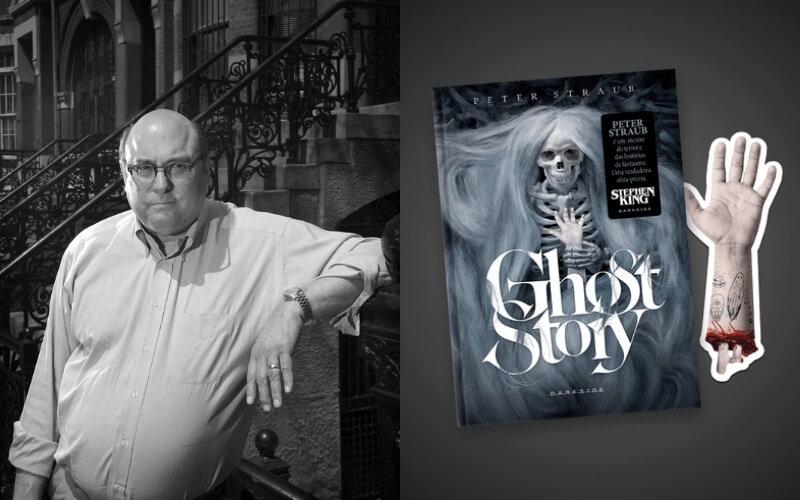 Ghost Story, de Peter Straub, ganha edição com marcador em formato de mão