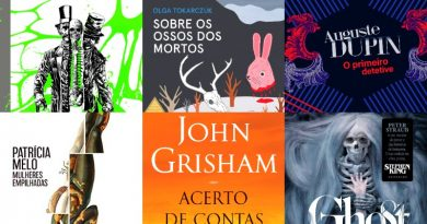 LANÇAMENTOS | Crime, suspense e terror em novembro