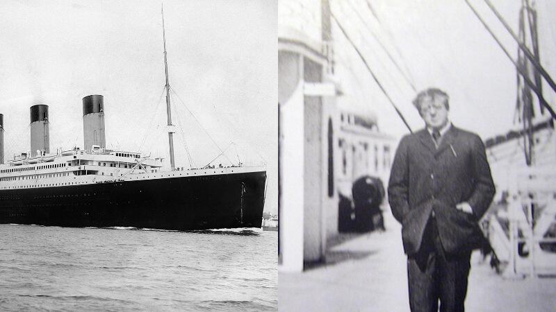 TITANIC | O romancista policial que morreu na tragédia de 1912